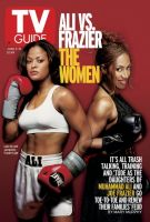 TV Guide, June 2, 2001 - Ali VS. Frazier: The women
