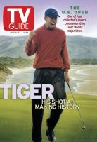 TV Guide, June 9, 2001 - Tiger Woods