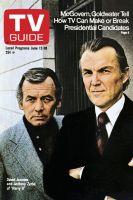 TV Guide, June 12, 1976 - David Janssen of