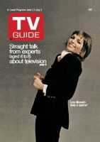 TV Guide, June 27, 1970 - Liza Minnelli does a special