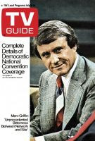 TV Guide, July 8, 1972 - Merv Griffin
