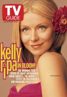 TV Guide, August 18, 2001 - Kelly Ripa
