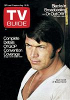 TV Guide, August 19, 1972 - Chad Everett of 'Medical Center'