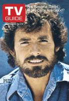 TV Guide, October 2, 1976 - David Birney of 'Serpico'
