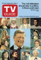 TV Guide, November 28, 1970 - John Wayne's $2,000,000 special