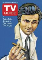 TV Guide, March 25, 1972 - Peter Falk