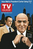 TV Guide, December 31, 1977 - Kevin Dobson and Telly Savalas of 'Kojak'