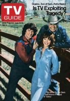 TV Guide, June 16, 1979 - Patrick Duffy, Jim Davis and Victoria Principal of 'Dallas'