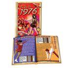 1976 MiniBook: 43nd Birthday or Anniversary Gift