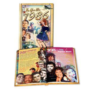 1986 MiniBook: 34rd Birthday or Anniversary Gift