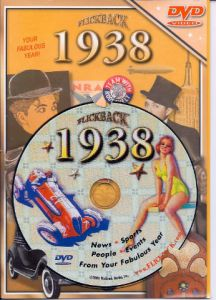 Events of 1938 DVD W/Greeting Card