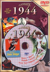 Events of 1944 DVD W/Greeting Card