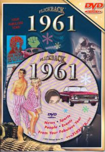 Events of 1961 DVD W/Greeting Card