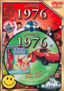 Events of 1976 DVD W/Greeting Card
