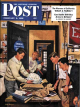 Saturday Evening Post, February 3, 1951 - Package from Home