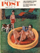 Saturday Evening Post, August 27, 1955 - Wading Pool