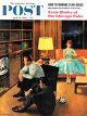 Saturday Evening Post, April 21, 1956 - Date with the Television