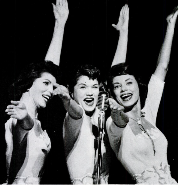 McGuire Sisters. March 17, 1958 Life magazine