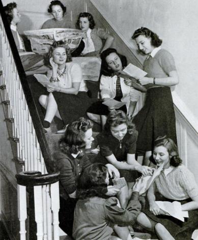 Girls of Kansas State University. - December 11, 1939 Life Magazine