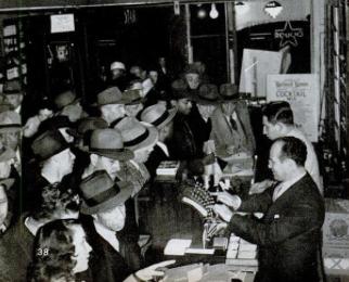 Whisky Shortage - December 13, 1943 Life magazine