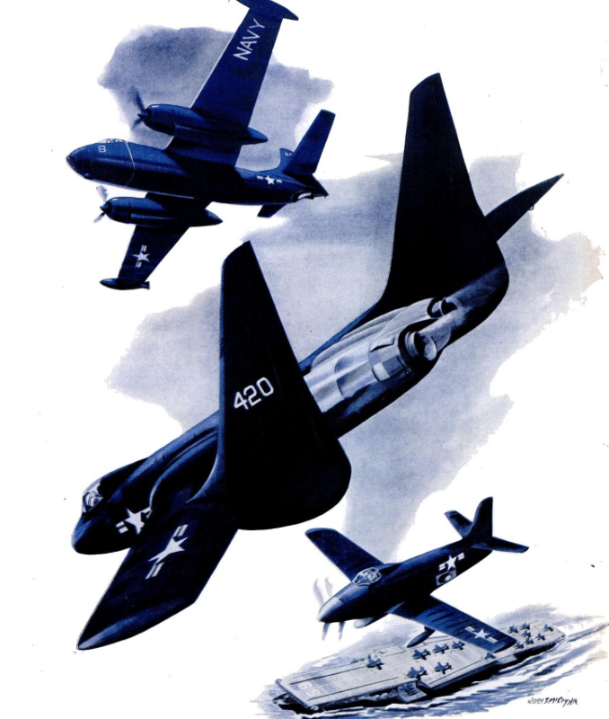 Military Aviation from WWI to Present - February 4, 1952 Life magazine