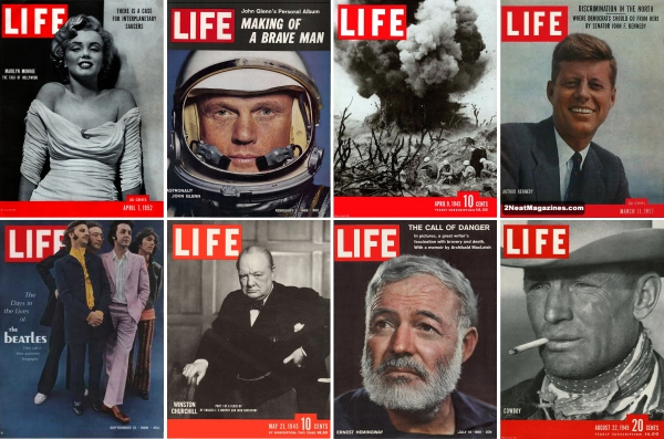Old Life Magazines has been online since 1996.